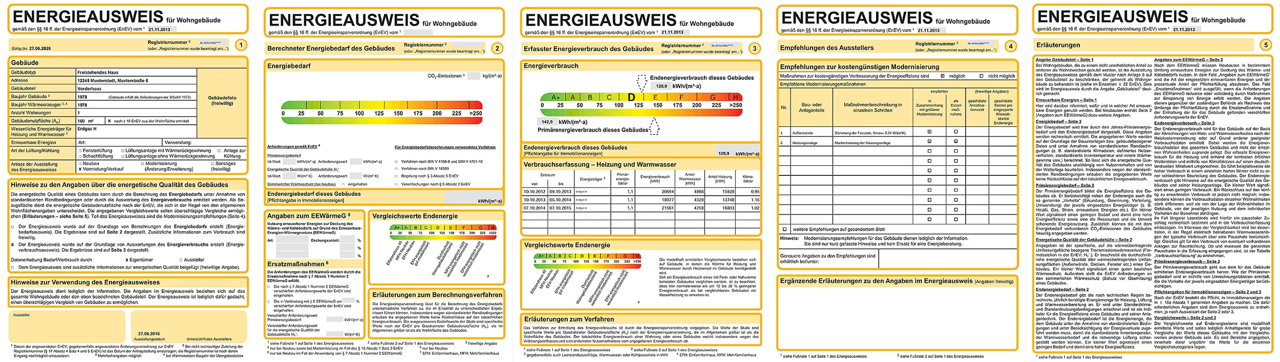 Energieausweis Immobilie Hausverkauf