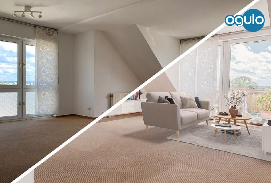 Immobilie Eigentumswohnung Innen vorher-nachher